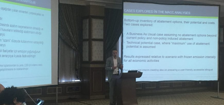 Determination of Economic, Fiscal and Sectoral Factors of Carbon Pricing and Sectoral Marginal Abatement Cost Curves for Turkey – 2nd Evaluation Meeting